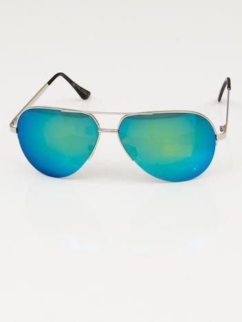 Okulary słoneczne PILOTKI AVIATORY LUSTRZANKI
