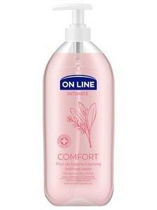 On Line Intimate Płyn do higieny intymnej Comfort z szałwią  500 ml