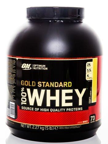 Optimum Nutrition Odżywka białkowa - Gold Standard - 2270g Vanilla creme