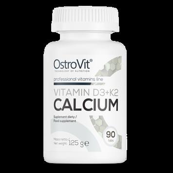 Ostrovit Vitamin D3 + K2 Calcium 90 tabs.