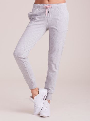 Outhorn Jasnoszare spodnie dresowe