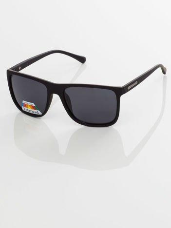 POLARYZACYJNE  męskie okulary przeciwsłoneczne - antypoślizgowa oprawka  +GRATISY