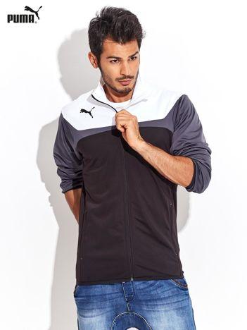 PUMA Biało-czarna rozpinana bluza męska sportowa