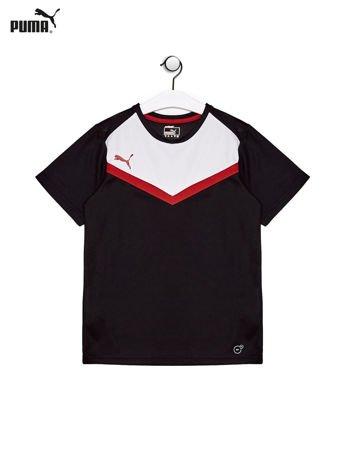 PUMA Czarny t-shirt chłopięcy