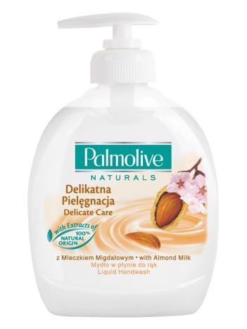 Palmolive Naturals Mydło w płynie z dozownikiem Mleczko Migdałowe 300 ml
