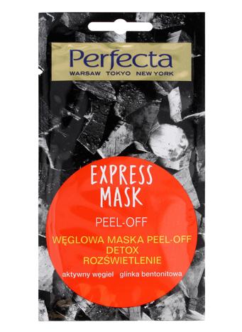 Perfecta Express Mask Węglowa Maska Peel-Off Detox 8 ml