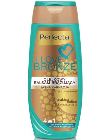 Perfecta I Love Bronze Balsam brązujący olejkowy 4w1 jasna karnacja 250ml