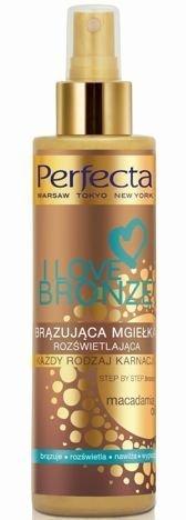 Perfecta I Love Bronze Brązująca Mgiełka rozświetlająca - każda karnacja 200 ml