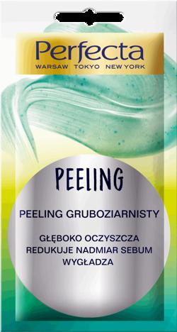 Perfecta Peeling gruboziarnisty cera normalna, mieszana i tłusta 8ml