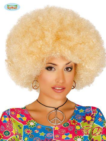 Peruka mega afro blond