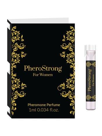 Phero Strong Silne FEROMONY dla pań pozwalają rozbudzić męską ciekawość i pożądanie 1ml