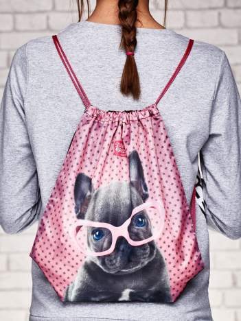 Plecak typu worek z motywem STUDIO PETS