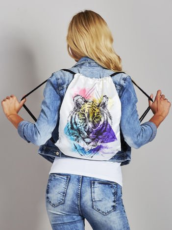 Plecak worek z tygrysem