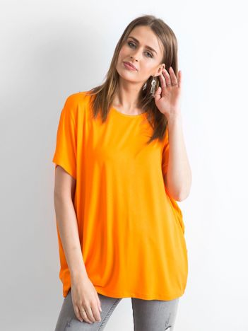 Pomarańczowa bluzka Oversize