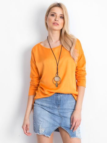 Pomarańczowa bluzka Undisputed