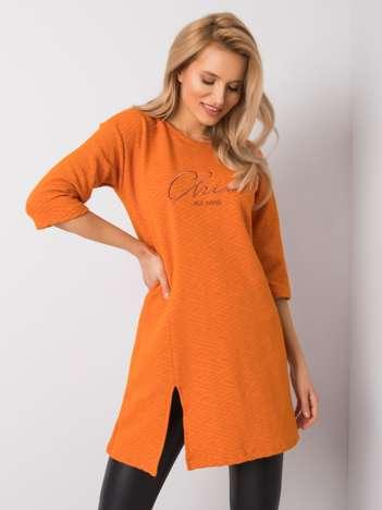 Pomarańczowa tunika Katy RUE PARIS