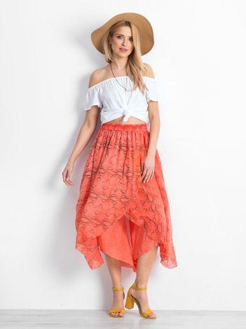 Pomarańczowe spodnie First-choice