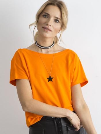 Pomarańczowy t-shirt Fire