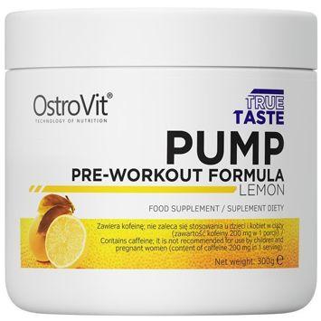Przedtreningówka Ostrovit - Pump 300g Lemon