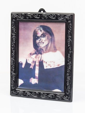 Przerażające zdjęcie kobiety 3D