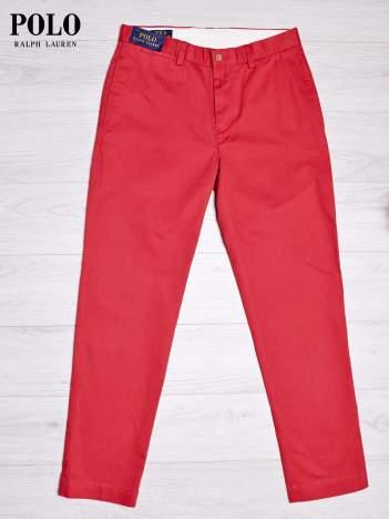 RALPH LAUREN Fuksjowe spodnie męskie