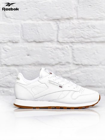 REEBOK Białe buty sportowe Classic Leather