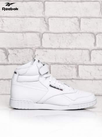 REEBOK Białe sneakersy męskie sportowe z zapięciem na rzepy
