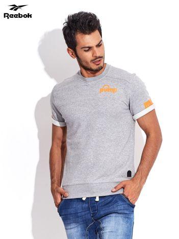 REEBOK Classic Pump Jasnoszara bluza męska z krótkim rękawem