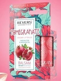 REVERS Balsam do ust w sztyfcie Nawilżenie & Ochrona Granat 4g