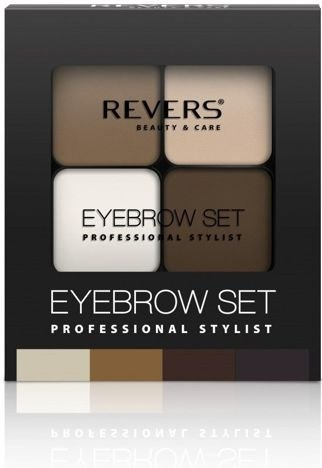 REVERS Cienie do brwi EYE BROW SET PROFESSIONAL STYLIST nr 03 18g