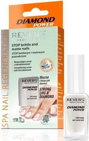 REVERS DIAMOND POWER Wzmacniające serum do paznokci z mikrodiamentami 10 ml