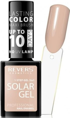 REVERS Lakier do paznokci SOLAR GEL 15 nude sand 12 ml