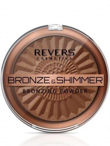 REVERS Puder BRONZE & SHIMMER nr 1, 9 g