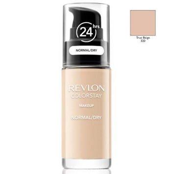 REVLON ColorStay podkład z pompką do skóry normalnej i suchej z kompleksem SoftFlex 320 True Beige 30ml