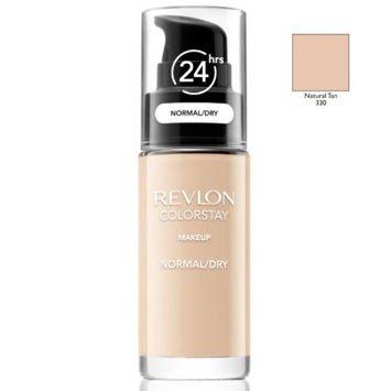REVLON ColorStay podkład z pompką do skóry normalnej i suchej z kompleksem SoftFlex 330 Natural Tan 30ml