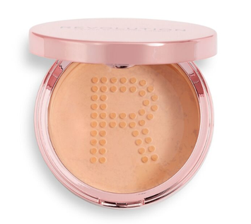 REVOLUTION Conceal & Fix Setting Powder Puder sypki Medium Pink 13 g