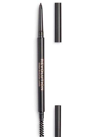 REVOLUTION Kredka do brwi Precise Brow Pencil Medium Brown