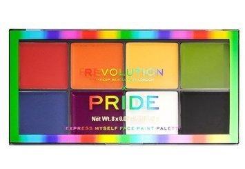REVOLUTION X Pride Express Myself Face Paint Palette Paleta do charakteryzacji i makijażu artystycznego