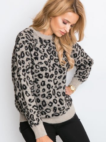 RUE PARIS Beżowy sweter Corsica