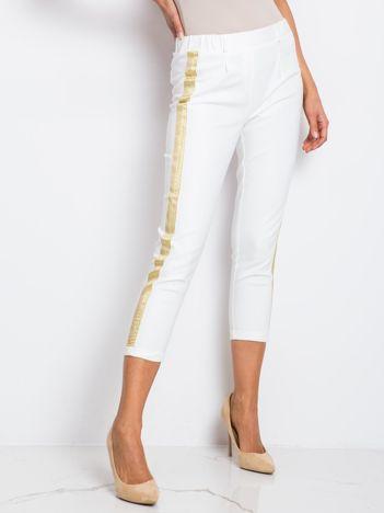 RUE PARIS Białe spodnie Drake