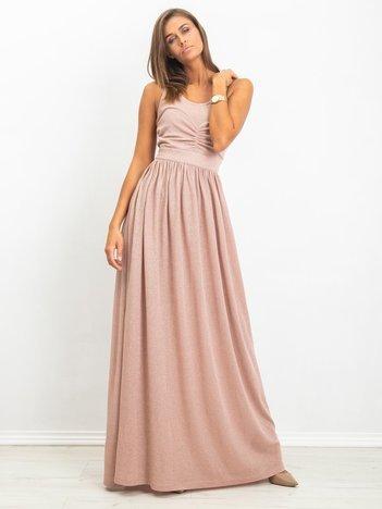 RUE PARIS Brudnoróżowa sukienka Mary
