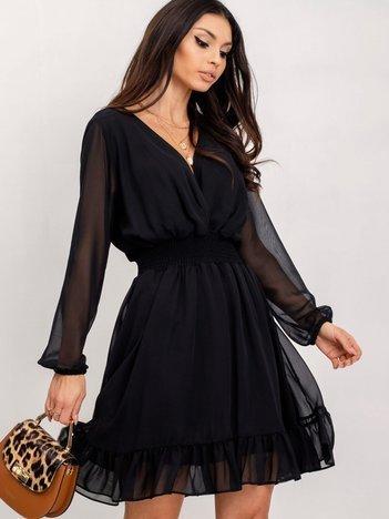 RUE PARIS Czarna sukienka Astra