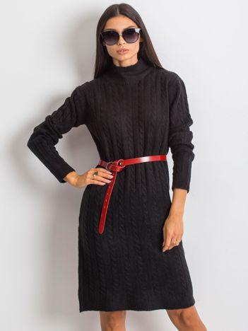 RUE PARIS Czarna sukienka Evermore