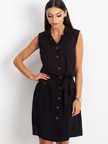 RUE PARIS Czarna sukienka Hive