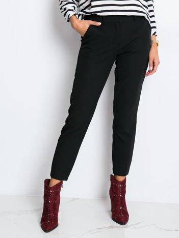 RUE PARIS Czarne spodnie Savage