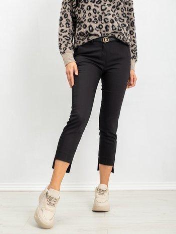 RUE PARIS Czarne spodnie Susan