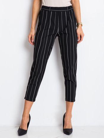 RUE PARIS Czarne spodnie Valentina