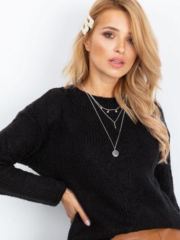 RUE PARIS Czarny sweter Tiffany