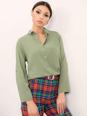 RUE PARIS Khaki koszula Devay