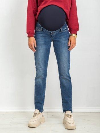 RUE PARIS Niebieskie spodnie ciążowe Totally